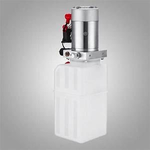 12v Electric Single Acting Manual Hydraulic Pump High