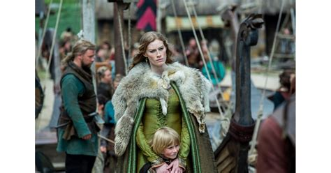 alyssa sutherland  aslaug vikings cast  real life