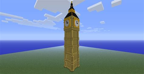 big ben clock tower minecraft project