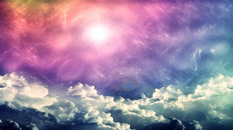 Colorful Clouds Wallpapers Wallpaper Cave