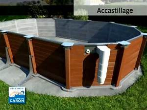 piscine caron piscine hors sol youtube With piscine hors sol interieur