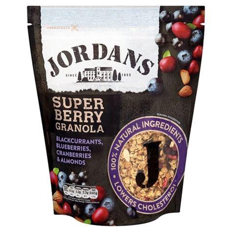 jordans super berry granola  groceries tesco groceries