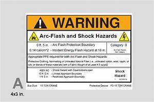 arc flash label printer satu sticker With arc flash label printing service