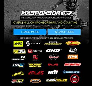 Motocross sponsorship motocross sponsorships mx for How to get motocross sponsors