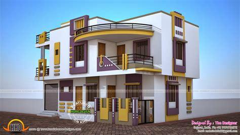 India Contemporary House Plan-kerala Home Design And