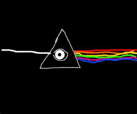 Pink Floyd Illuminati by The Illuminati Turns Rainbows Into Plain Light Drawception