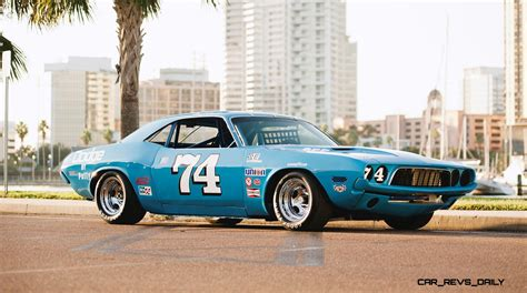 Race Dodge Challenger by 1973 Dodge Challenger Race Car Ex Dale Earnhardt