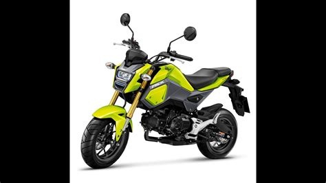 """2016 Honda Grom, A New """"mini-streetfighter"""" Redesign For"""
