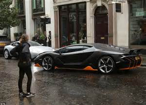 shimmering supercars race   streets  london
