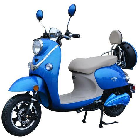 e scooter motor boom 800w 48v electric moped scooter 573n brushless motor blue ebay