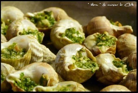 cuisiner escargots recette de bulots farcis la recette facile