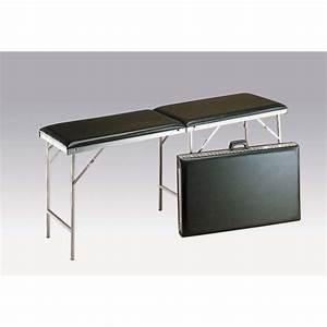 Table Pliante Noire : table pliante alu noire carina cledical ~ Teatrodelosmanantiales.com Idées de Décoration