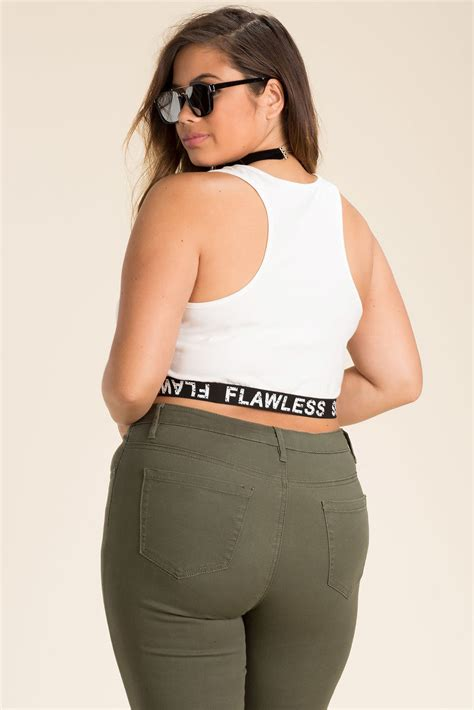 sw flawless crop 39 s plus size cropped tops get flawless crop top a