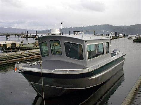 Fishing Boat Cabin by 25 Nitinat Aluminum Cabin Boat By Silver Streak Boats