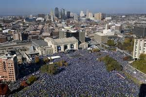 Kansas City Royals World Series parade held on Tuesday to ...