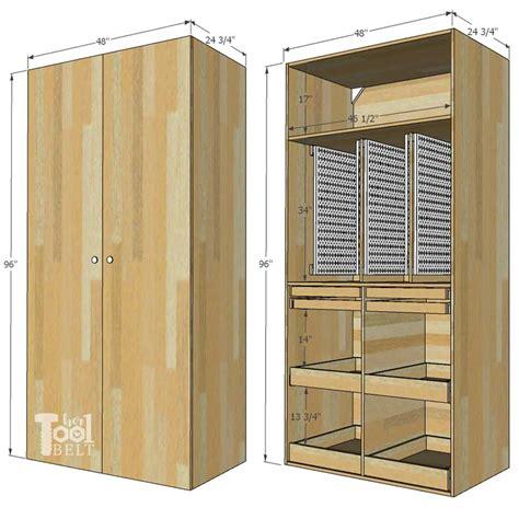 garage hand tool storage cabinet plans  tool belt