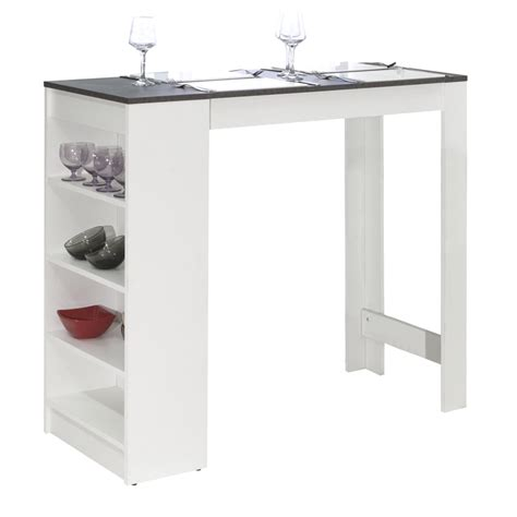 cuisine table bar meuble bar rangement cuisine salon blanc laque ikea 36 metz bar en bois re conditionn brut et