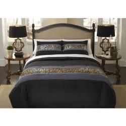 divatex home fashions metallic printed bling mini comforter set walmart com
