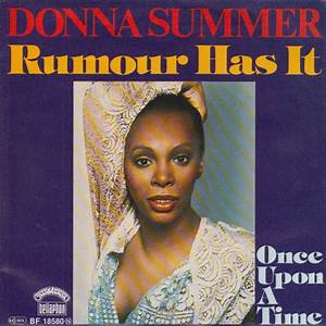 Donna Summer - Rumour Has It at Discogs