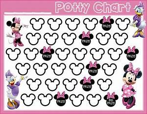 Potty Training Free Printable Minnie Mouse Daisy Duck