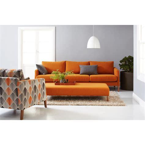orange sofa chairs sofa ideas