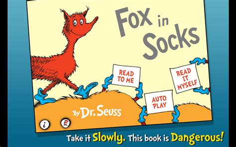 fox  socks dr seuss android apps  google play