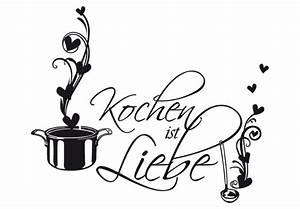 Keramiktöpfe Zum Kochen : wandtattoo kochen ist liebe dieser k chen wandsticker beweist dass liebe durch den magen geht ~ Sanjose-hotels-ca.com Haus und Dekorationen