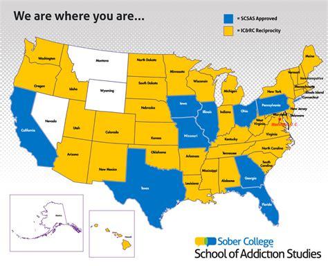 addiction counselor certification programs   sober