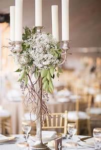 Chandelier De Table : chandelier bougie et fleur chandelier table mariage chandelier id e d co table mariage et ~ Melissatoandfro.com Idées de Décoration