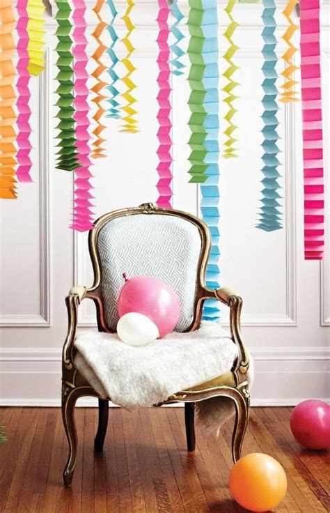 Decorating Ideas With Streamers by 12 Festive Ways To Decorate With Streamers Birthday