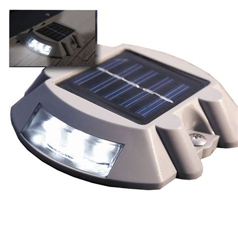 Deck Lights Solar by Dock Edge Solar Dock Deck Light Docklite The Wireless