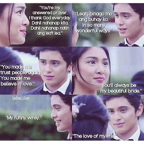 nadine lustre quotes on the wings of love abscbn and dreamscape production