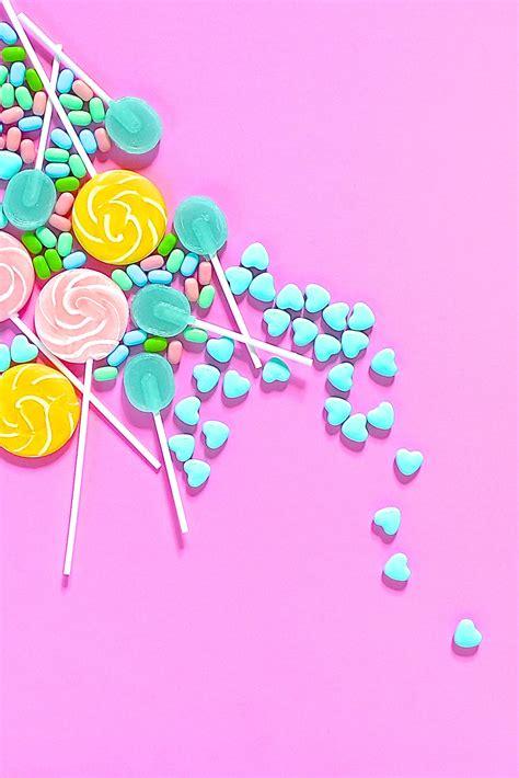 sweet sugar wallpaper violet tinder studios