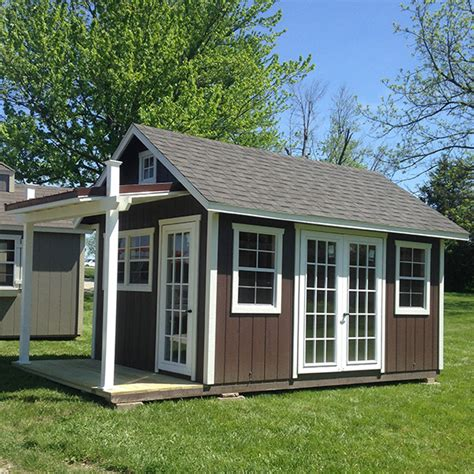 Shed With Porch by Garden Shed With Porch 183 Recreation Unlimited