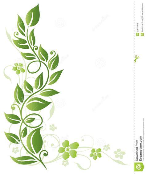 bladeren bloemen de lente vector illustratie
