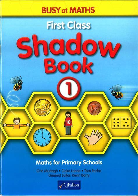 busy  maths  shadow book  class