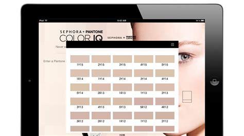 sephora color iq sephora pantone color iq knows your skin tone better