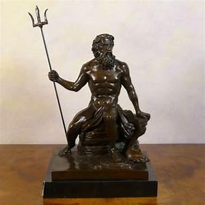 Poseidon Statue Man Bronze Statue Bronze Sculptures