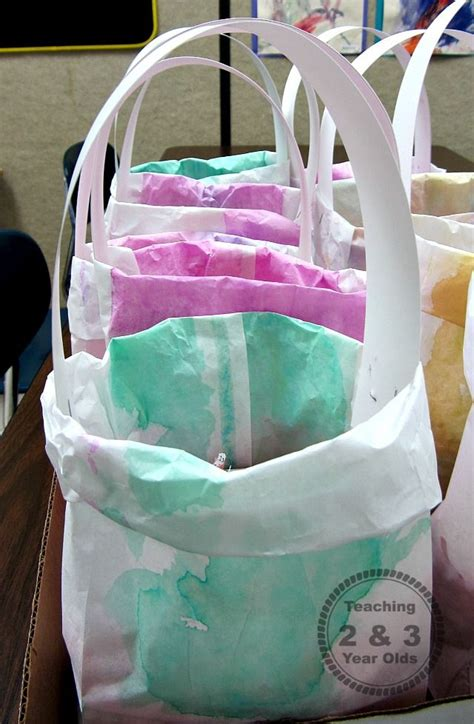 easy easter bags for prek easter theme 915 | d630d4fefff2036a28b1b753f7ede63b