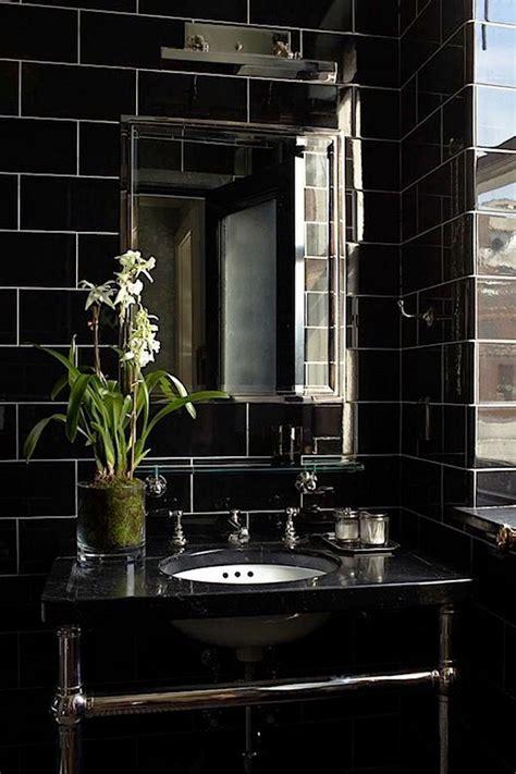 elegant black bathroom design ideas   inspire