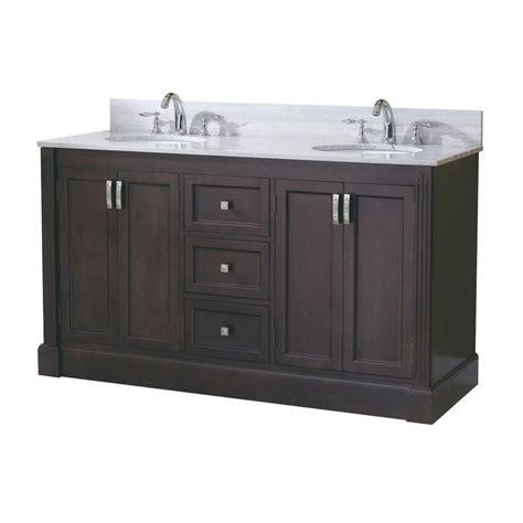 allen roth vanity cabinets allen roth 61 in espresso kingsway traditional bath