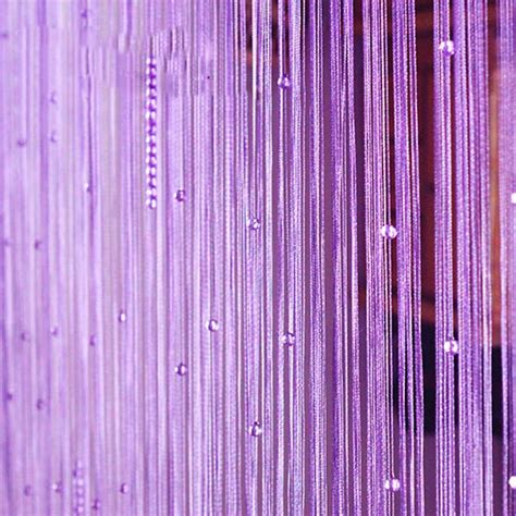 purple beaded curtains bead door ideas for your home