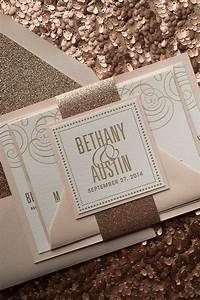 17 best images about blush rose gold on pinterest nancy With rose gold and champagne wedding invitations