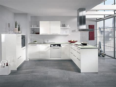 Küche Weiß Hochglanz by Alno Charme Hochglanz K 252 Che Mit Elektroger 228 Ten Und