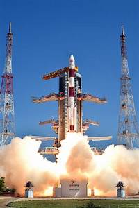 Photos: PSLV climbs away from Indian spaceport ...