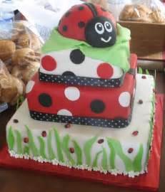 Ladybug Baby Shower Cake Ideas