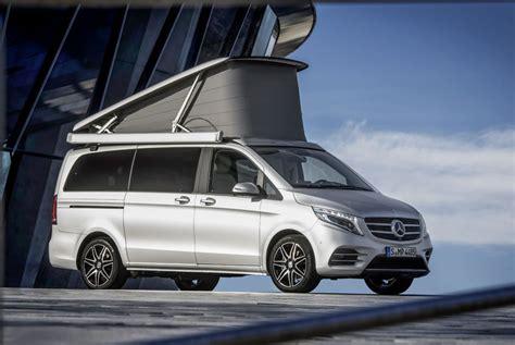 Modifikasi Mercedes V Class by Mercedes V Class Marco Polo Yang Mirip Rumah
