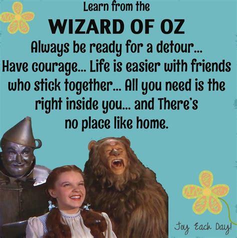 wizard  oz quotes life lessons quotesgram
