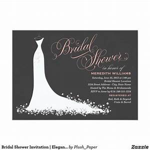 Bridal shower invitations bridal shower invitations for Photo wedding shower invitations