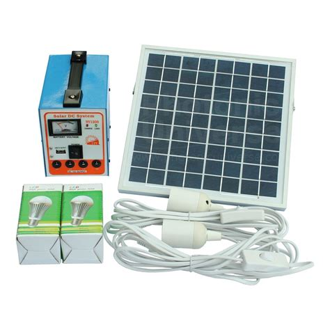 Solar Panel Kit For Shed by 6w Solar Panel Lighting System Kit For Shed Garage